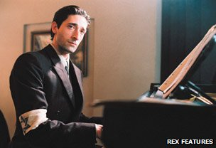 Adrien Brody in the film The Pianist