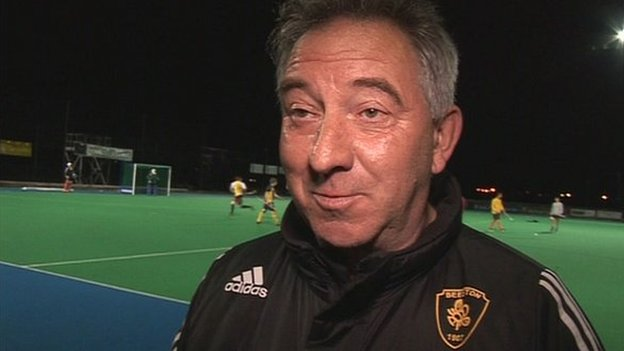 Beeston Hockey manager Graham Griffiths