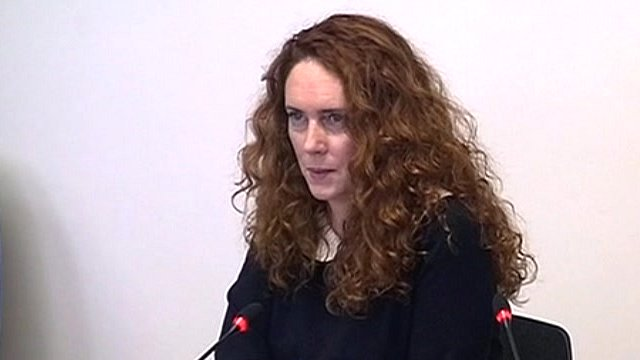 Rebekah Brooks, former chief executive of News International.
