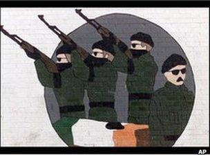 Mural in Belfast