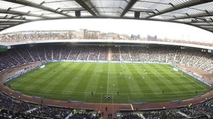 Hampden in Glasgow