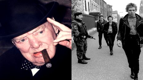 Winston Churchill and The Clash were both locked out of the Ulster Hall