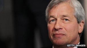 Jamie Dimon in New York City 3 May 2012
