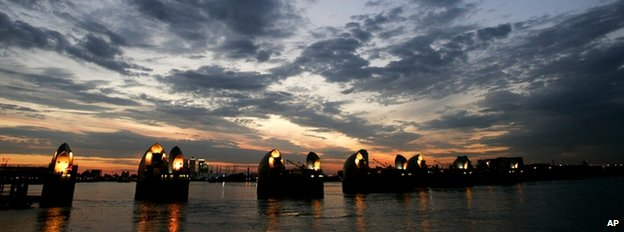 Thames flood barrier (Image: AP)