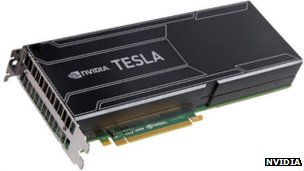 Nvidia Tesla K20 computing module