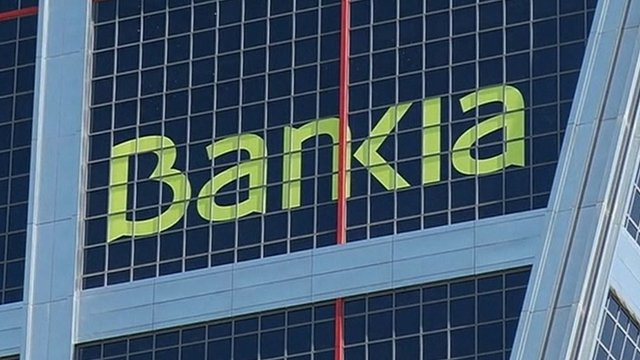 Bankia sign