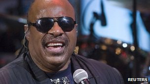Stevie Wonder (file image)