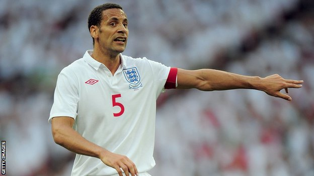 Rio Ferdinand first played for England against Cameroon in 1997