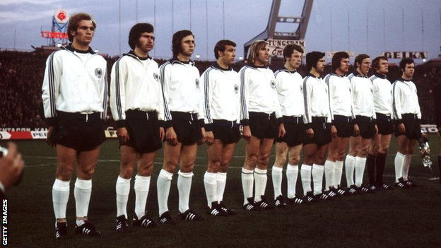 The German team in 1972