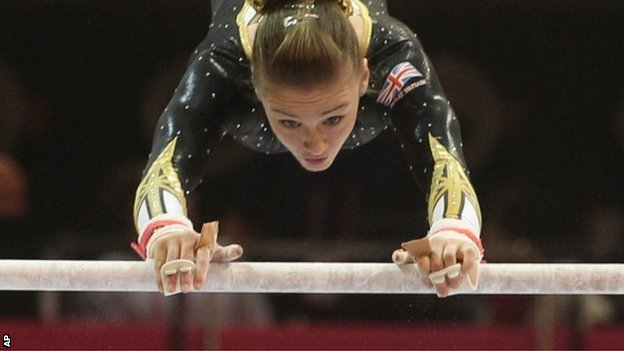 British gymnast Ruby Harrold