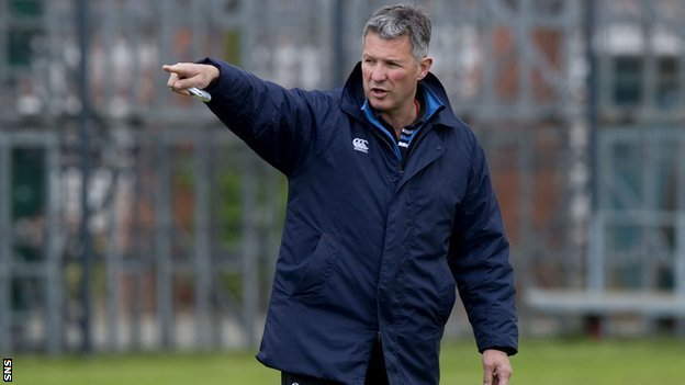 Glasgow Warriors head coach Sean Lineen