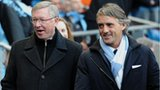 Alex Ferguson and Roberto Mancini