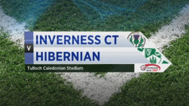 Inverness CT v Hibernian