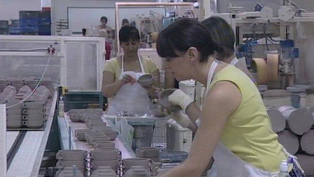 Ceramics factory