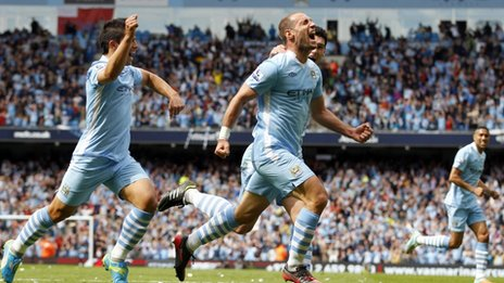 60205415 60205414 - Man City win the Premiership title