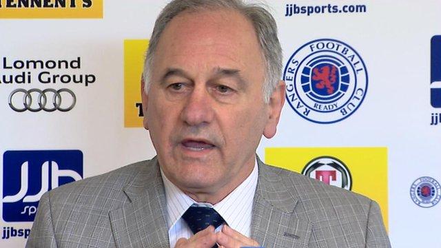 Consortium leader Charles Green