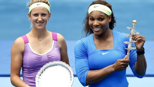 Victoria Azarenka and Serena Williams
