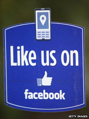 Facebook &#039;like&#039; button logo 