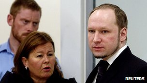 Breivik says he carried out the killings to protect Norway from multiculturalism