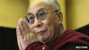 The Dalai Lama (file image)