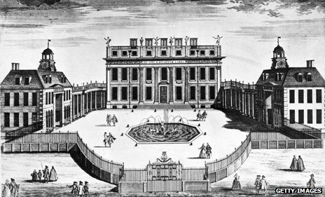 Buckingham House illustration