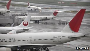 JAL planes