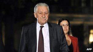 Fotis Kouvelis in Athens on 13 May