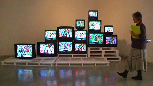 An exhibit in Sydney&amp;apos;s Museum of Contemporary Art 