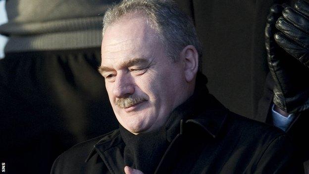 Hibernian chairman Rod Petrie