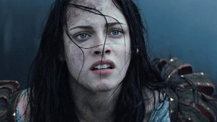 Kristin Stewart in Snow White and the Huntsman