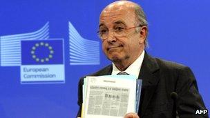 EU Commissioner Joaquin Almunia