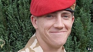 L/Cpl Michael Pritchard