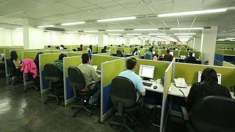 The Teleserv call centre