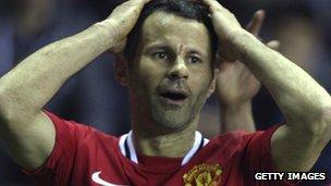 Manchester United footballer Ryan Giggs