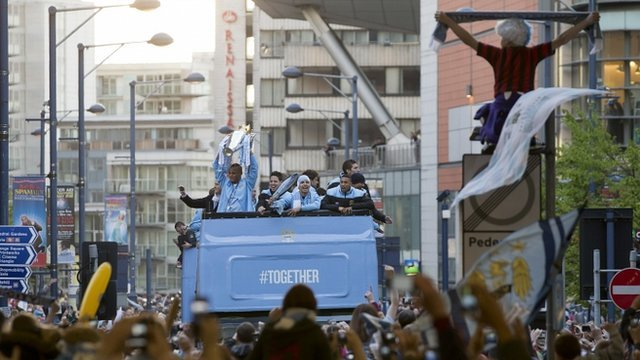 Manchester City parade