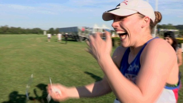 Mhairi Spence wins modern pentathlon world title
