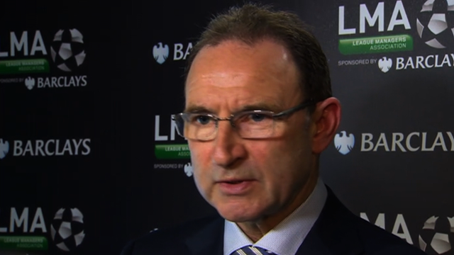 Sunderland boss Martin O&#039;Neill