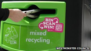 Recycling bin