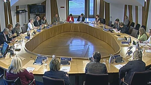 MSPs listened to evidence from the gypsy travelling community