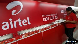 Bharti Airtel shop