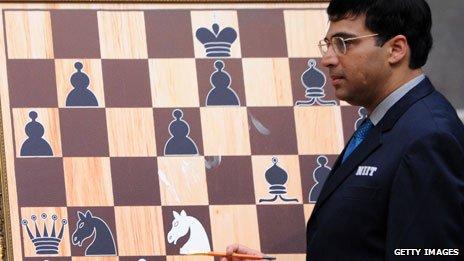India's Vishwanathan Anand