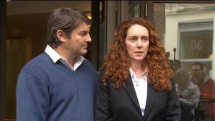 Charlie and Rebekah Brooks