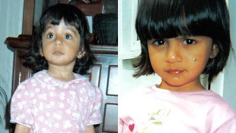 Suman Bansal on 16 May 1998 (left) and 16 May 1999 (right)