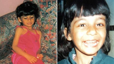 Suman Bansal on 16 May 2000 (left) and 16 May 2001 (right)