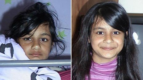Suman Bansal on 16 May 2006 (left) and 16 May 2007 (right)