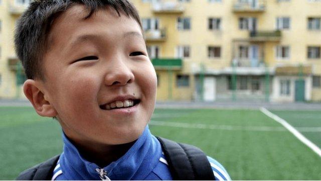 Mongolian footballer