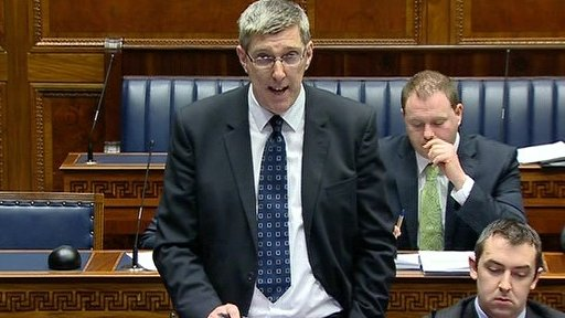 Education Minister John O'Dowd made a statement on further funding allocations in 2012-13.