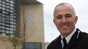 Temp Chief Constable of North Yorkshire, Tim Madgwick