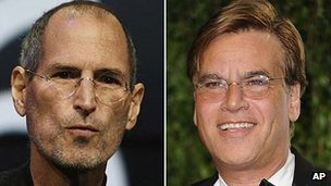 Steve Jobs and Aaron Sorkin