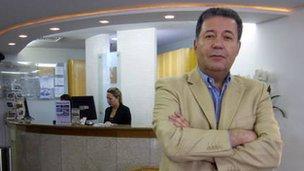 Hotelier Alexandre Sampaio